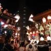 熊谷うちわ祭り由来や日程は?山車や屋台の時間は?