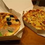 宅配ピザをカードで買えるのはどこ?ピザのサイズに違いはある?