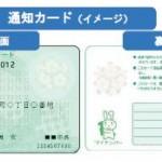 マイナンバー通知カードいつ届く??通知カードを紛失した時の手続きは?