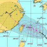 台風21号2015最新の進路は沖縄の石垣方面へ本州への影響は?
