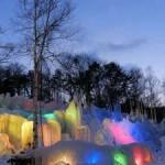 氷点下の森のライトアップや氷祭りプログラム アクセス方法をチェック!