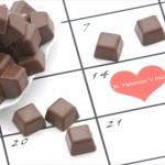 バレンタインが学校や会社の休みの場合チョコはどうする?