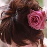 結婚式へ参加する時に誰でも出来る簡単ヘアアレンジ
