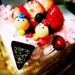 ひな祭りケーキを綺麗にひし形に切るための方法が知りたい!