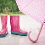 幼稚園に行くときは傘かレインコートのどっちがいい?